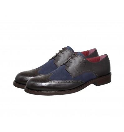 Zapato  blucher piel