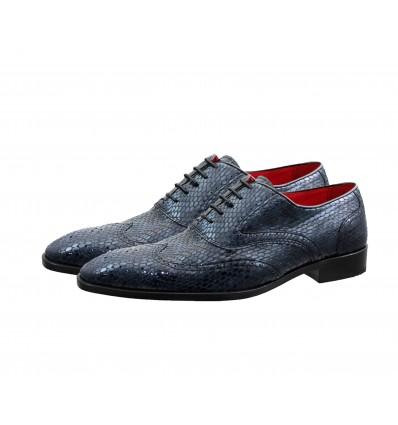 Zapato  blucher piel vipera